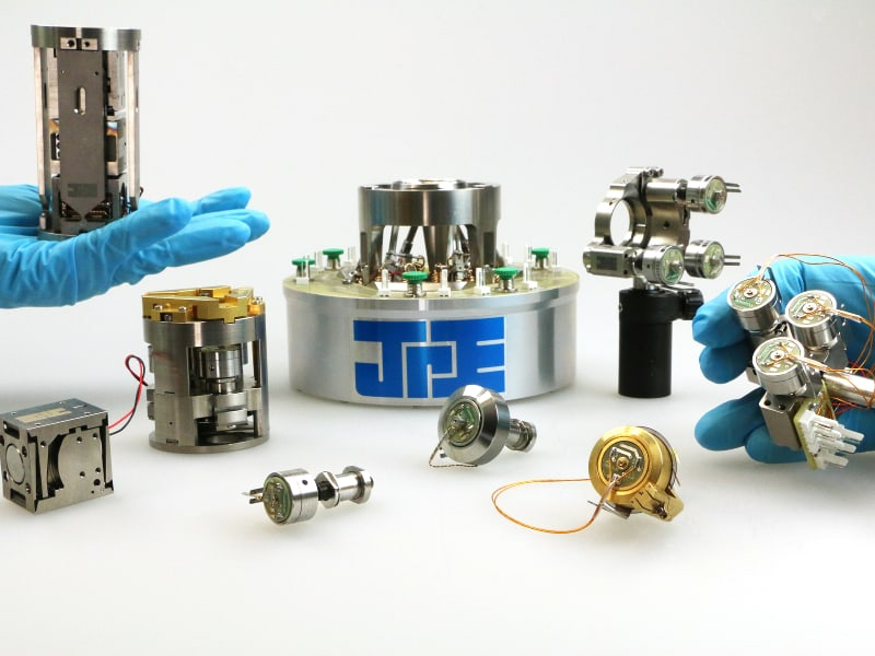 JPE PiezoKnob Technology - Cryo and Nano positioning products